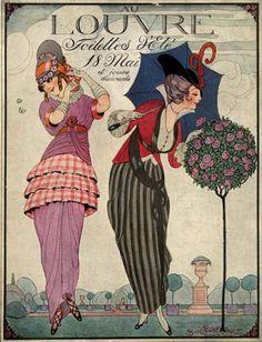 in-the-middle-of-a-daydream:    Illustration by Gerda Wegener, 1909