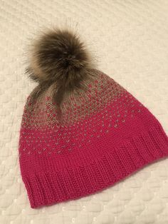 Ravelry: ecm25's Ombre Hat for Joyce