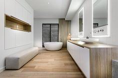 modern interiors & architecture — Weststyle Design & Development Designs a. Geek Furniture, Built In Furniture, Modern Baths, Modern Bathroom, Dream Home Design, House Design, Property Design, Shop Interior Design, Design Development