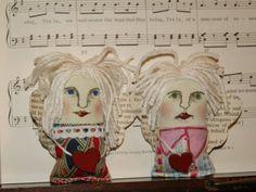 mini art dolls guardian angels