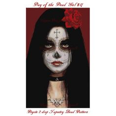~~~~CUSTOMER REQUESTED~~~~  Thank you for your interest in my beautiful BEAD PATTERNS for beautiful beaded tapestries.  Stitch your very own day of the dead tapestry-wall hanging!  Celebrate Dia de lo