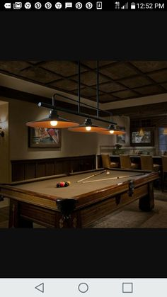 Vintage edison long billiard table light pinterest billiard pool table lighting keyboard keysfo Choice Image