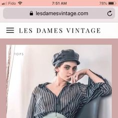 Eco-fashion is a smart idea! Les dames vintage is a modern thrift store that provides vintage-style clothing and accessories for women of all sizes. Vintage Style Outfits, Vintage Fashion, Vintage Tops, Thrifting, Fashion Outfits, Business, Clothes, Women, Outfit