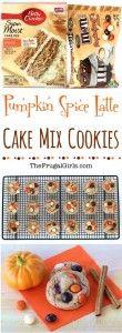 Pumpkin Spice Latte Cookies Recipe from TheFrugalGirls.com