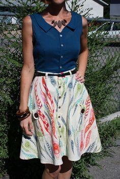 Colette Hawthorn by A Handmade Wardrobe