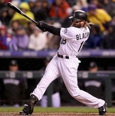 36. Charlie Blackmon  -  Charles Cobb Blackmon is an American professional baseball center fielder for the Colorado Rockies of Major League Baseball.