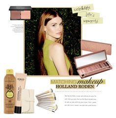 """""""Holland Roden ♥"""" by tvdsarahmichele ❤ liked on Polyvore featuring beauty, Forever 21, Urban Decay and Möve"""