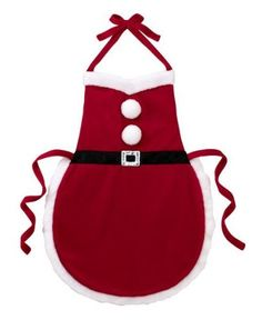 Ganz Christmas Apron - Multi Purpose Santa Suit Apron by apron-santa-ex15932-19b-dup31, http://www.amazon.com/gp/product/B008ON0UKA/ref=cm_sw_r_pi_alp_lCyNqb0MW3VHK