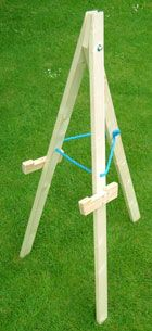 how to build an archery target stand - Google Search