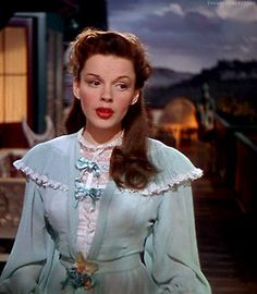 Judy Garland in The Harvey Girls (1946) Find authentic Harvey House China from the real Harvey House, on which this film is based, at P.O.S.H. Chicago! Available in-store now, coming soon to website http://poshchicago.com/
