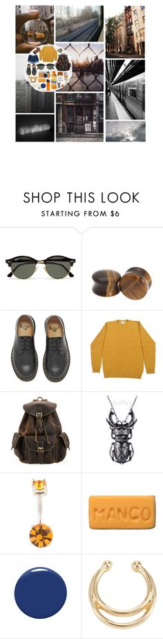 """""""I don't wanna live like a broken record"""" by bones-2-dust ❤ liked on Polyvore featuring GET LOST, Fujifilm, Ray-Ban, Dr. Martens, House of Harlow 1960, tuktuk and Christian Louboutin"""