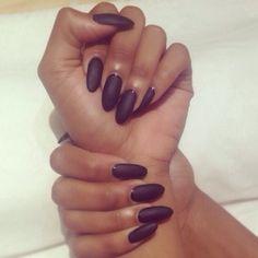 #Matte #Nails