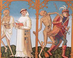 Danza de la muerte en el Jueves Santo. Arriba PIBID: L