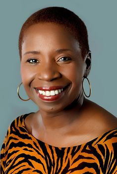 Iyanla Vanzant, author, life coach. Fav' Oprah BFF lol. Gotta' love Iyanla