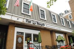 Pat Troy's Ireland's Own restaurant and pub at 111 N. Pitt St. is nearly as legendary as its owner, who once hosted President Ronald Reagan at the Old Town establishment. (Derrick Perkins)