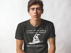 Discover The Sorting Hat Selects Bass Clarinet T-Shirt from The Sorting Hat Selects...Band, a custom product made just for you by Teespring. With world-class production and customer support, your satisfaction is guaranteed. - Hmmm...secretly plotting everyone's epic...