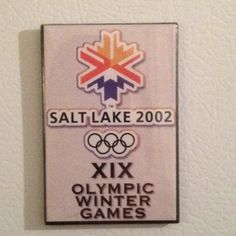 Salt Lake City XIX Winter Olympic Games.  A special trip for my Mom and I!