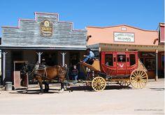 Replica Stagecoach at Tombstone, Arizona - photo by B N Sullivan