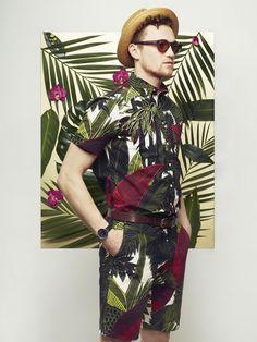 Hawaiian Punch by Saty + Pratha for Style Advisor