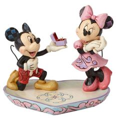 Disney Traditions Mickey and Minnie A Magical Moment Statue - Enesco - Mickey Mouse - Statues at Entertainment Earth