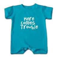 Here Comes Trouble - Kids and Babies Clothes