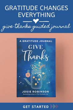 Give Thanks Guided Gratitude Journal Gratitude Jar, Gratitude Journals, Feeling Inadequate, Feeling Insecure, Letter To Yourself, Be Kind To Yourself, Positive Quotes, Motivational Quotes, Inspirational Quotes