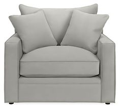 Orson Chair & Ottoman - Modern Accent & Lounge Chairs - Modern Living Room Furniture - Room & Board