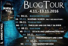 Magische Momente : [Blogtour] Angels Fall von Susanne Leuders / Buchv...