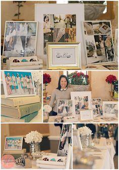 BRIDAL SHOW TABLE IDEAS