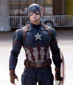 Captain America Movie, Captain America Civil War, Chris Evans Captain America, Steve Rogers, Avengers Movies, Superhero Movies, Marvel Heroes, Marvel Dc, Marvel Universe