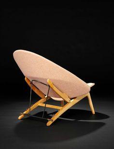 Hans Wegner; Adjustable 'Tub' Chair for Johannes Hansen, 1954. Reproduced by PP Møbler, 2014.