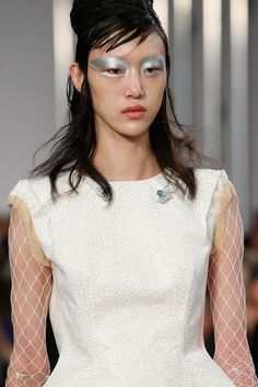 The Look We're Loving Today: Extreme Evening Eyes at Maison Margiela