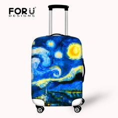 Creative Printing Organ Candy Color Protective Waterproof Luggage Cover for  Travel 18-30 inch Trolley 96b82750cd5cc