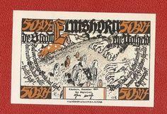 Germany Notgeld 50 pfennig 1921 Schleswig Holstein Elmshorn #9