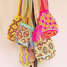No te quedes sin tu mochila Wayuu !!!! Explosión de color para este verano !!!! No solo vendemos artesania entregamos cultura !!!! #wayuunaberajua #crochet #tribal #hippie #indie #tejido #textiles #natural #organico #accesories #ecofashion #sustainable #colores #boho #bohem #gypsy #style #bag #gypsystyle #laguajira #barcelona #ibiza #beautiful
