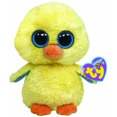 TY Beanie Boos - GOLDIE the Yellow Chick ( Beanie Baby Size )