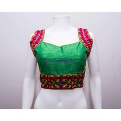 READYMADE SAREE BLOUSE readymade saree blouse online USAFabric : silkWash Care : Dry Clean OnlyTrendy blouse with back open and both the side golden embroidery work made with high quality fabric . Black Silk Blouse, Lehenga Gown, Designer Punjabi Suits, Blouse Neck Designs, Blouse Online, Saree Blouse, Indian Outfits, Crop Tops, Clothes