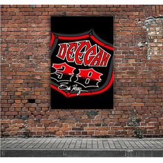 BRIAN DEEGAN LOGO METAL ARTWORK POSTERS