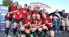 Las Vegas 2012 Champions - Canada's National Senior Women's 7s!