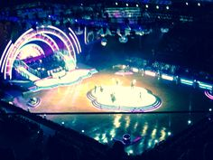 Strictly Come Dancing in Glasgow.