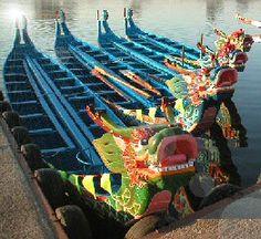Dragon Boat!  Practice has been fun so far!!
