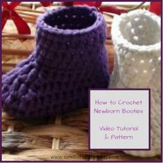 Crochet Baby Booties Good Ideas For You   How To Crochet