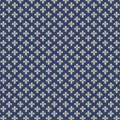 CHATEAU DE LIS SUNBRELLA OUTDOOR BLUE/WHITE | Calico Corners
