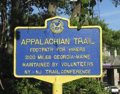 Appalachian Trail - 2100 miles Maine thru Georgia.
