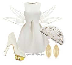"""""""Heavenly"""" by tspotstyles ❤ liked on Polyvore featuring River Island, Nancy Gonzalez, Charlotte Olympia and Benney"""