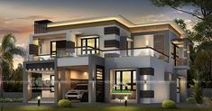 Ideas landscape layout architecture dream houses for 2019 Bungalow House Design, House Front Design, Modern House Design, House Paint Exterior, Exterior House Colors, Exterior Design, Bungalow Exterior, Craftsman Exterior, Grey Exterior