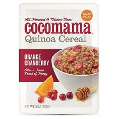 Cocomama Orange CranBerry Cereal (6x5OZ )