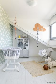 Beautiful and soft Scandinavian kids room decor ideas - A nursery does not mean that it is a crowded room in a Million colors - a children's room can be sty.