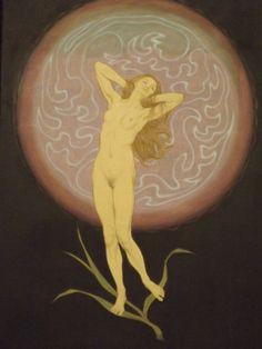 Fidus. aka German illustrator, painter and publisher Hugo Reinhold Karl Johann Höppener  1910