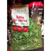 Nature's Greens Kale Greens | Fooducate - Had to share this fabulous find ! Already washed & cut for you !